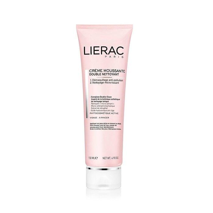 Image of Lierac Dubbele Reiniging Schuimende Crème 150ml