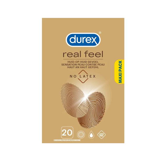 Image of Durex Real Feel Condooms 20 Stuks