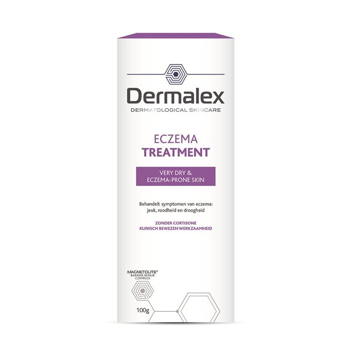 Image of Dermalex Eczeem Behandeling Crème Volwassenen 100g