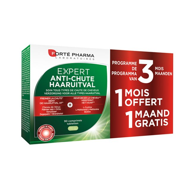 Image of Forté Pharma Expert Haaruitval 3x30 Tabletten PROMO 2+1 Maand Gratis