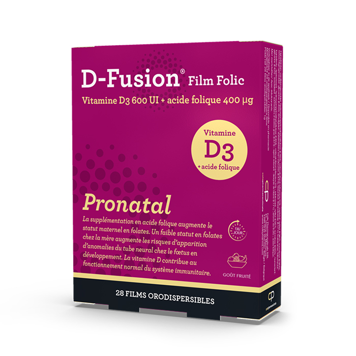 Image of D-Fusion Film Folic Pronatal Orodispergeerbare Films 28 Stuks