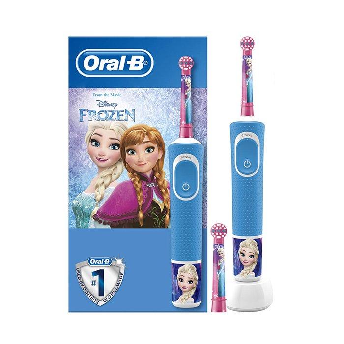 Image of Oral-B Frozen Elektrische Tandenborstel 3+ Jaar 1 Stuk + Extra Opzetborstel