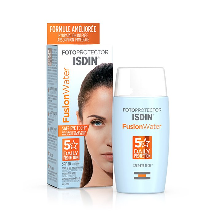Image of Isdin Fotoprotector Fusion Water 5 Star SPF50 50ml