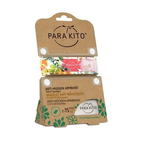 Image of Para'kito Anti-Muggen Armband Flowery + 2 Navullingen
