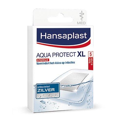 Image of Hansaplast Aqua Protect XL Waterdichte Pleisters 5 Stuks
