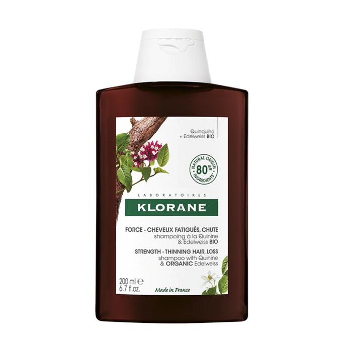 Image of Klorane Versterkende Shampoo Kinine & Edelweiss - Futloos Haar 200ml NF