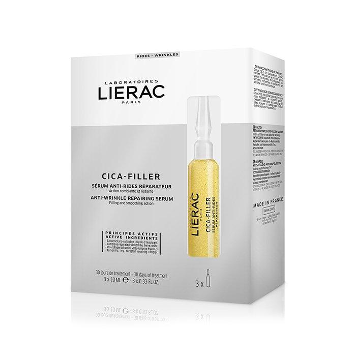 Image of Lierac Cica-Filler Herstellend Anti-Rimpel Serum 3x10ml Ampullen