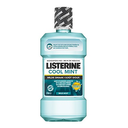 Image of Listerine Cool Mint Milde Smaak Mondspoeling 500ml