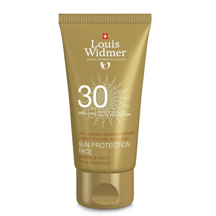 Image of Louis Widmer Sun Protection Face SPF30 Met Parfum 50ml
