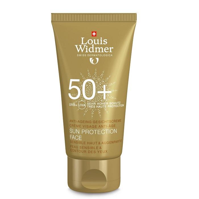 Image of Louis Widmer Sun Protection Face SPF50+ Met Parfum 50ml