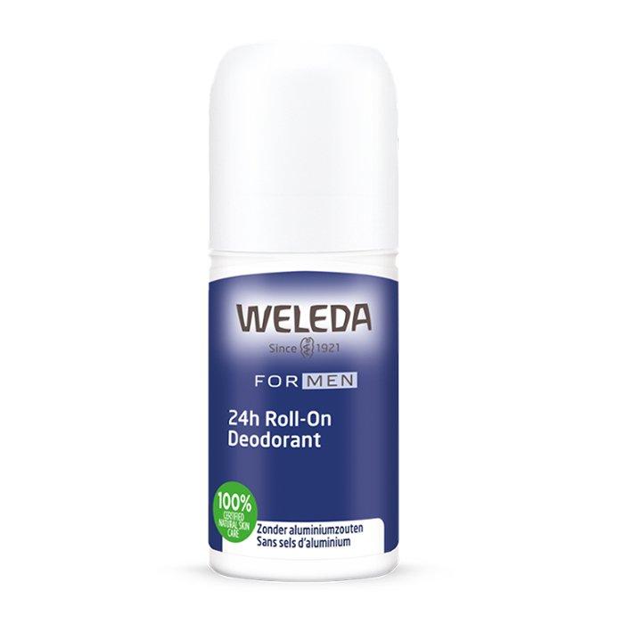 Image of Weleda Men 24H Roll-on Deodorant 50ml