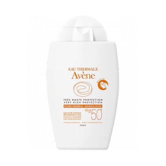 Image of Avène Zon Minerale Fluide SPF50+ 40ml
