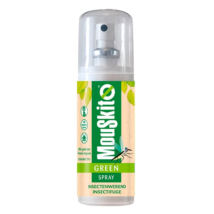 Image of Mouskito Green Spray Insectenwerend Citrodiol 30% 100ml