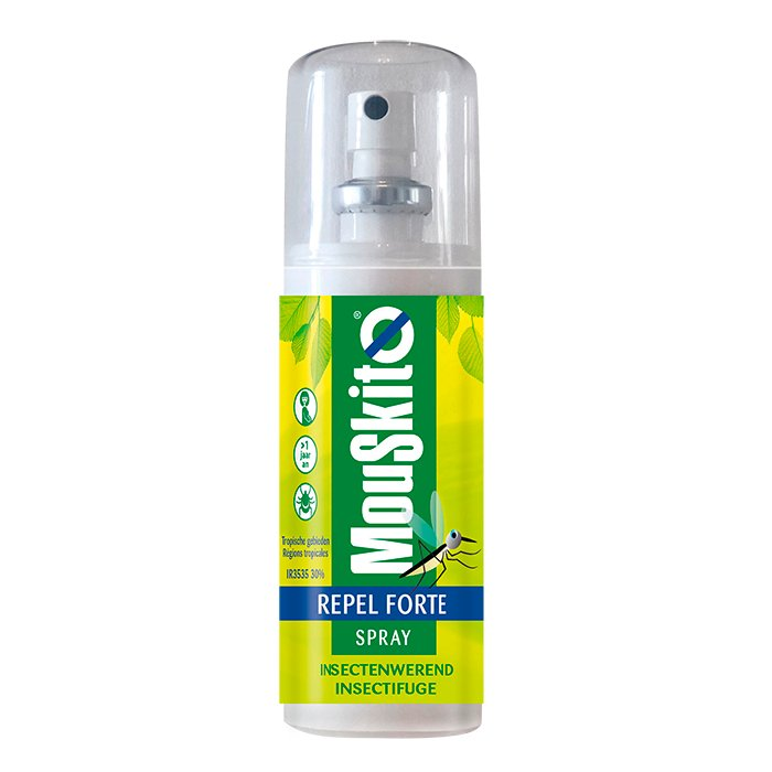 Image of Mouskito Repel Forte Spray Insectenwerend IR3535 30% 100ml