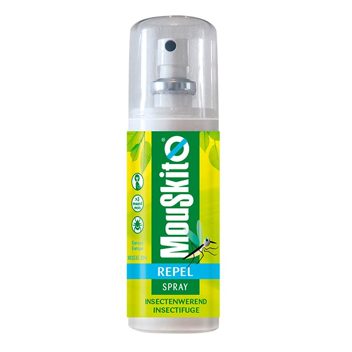 Image of Mouskito Repel Spray Insectenwerend IR3535 20% 100ml