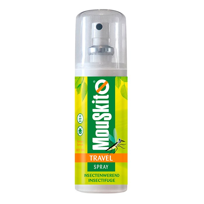 Image of Mouskito Travel Spray Insectenwerend DEET 30% 100ml