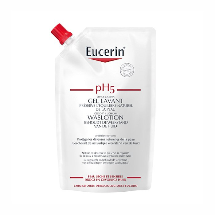 Image of Eucerin pH5 Waslotion Navulling 400ml