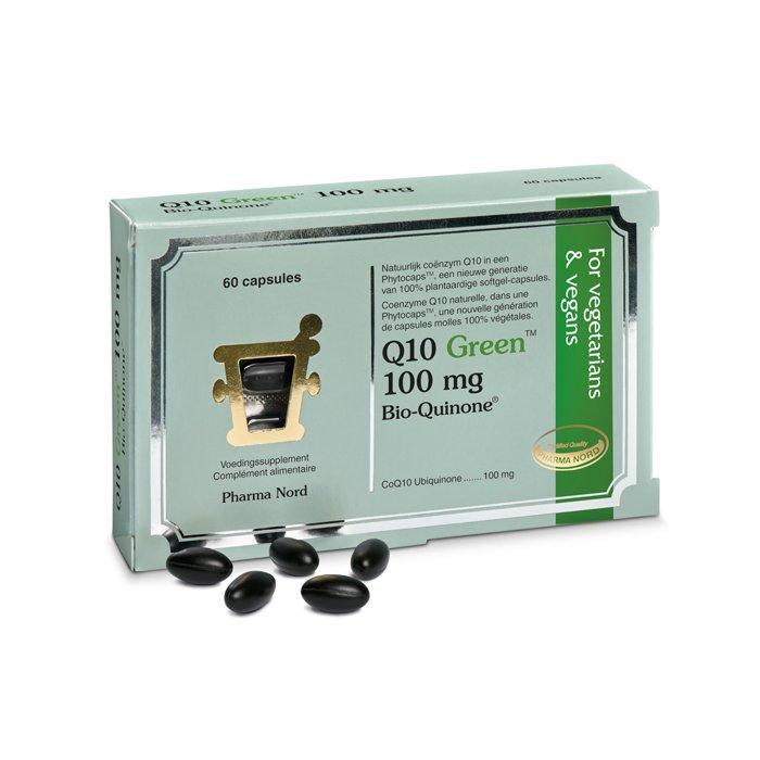 Image of Q10 Green 100mg 60 Capsules