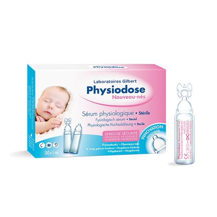 Image of Physiodose Fysiologisch Serum Pasgeboren Kinderen 30x5ml