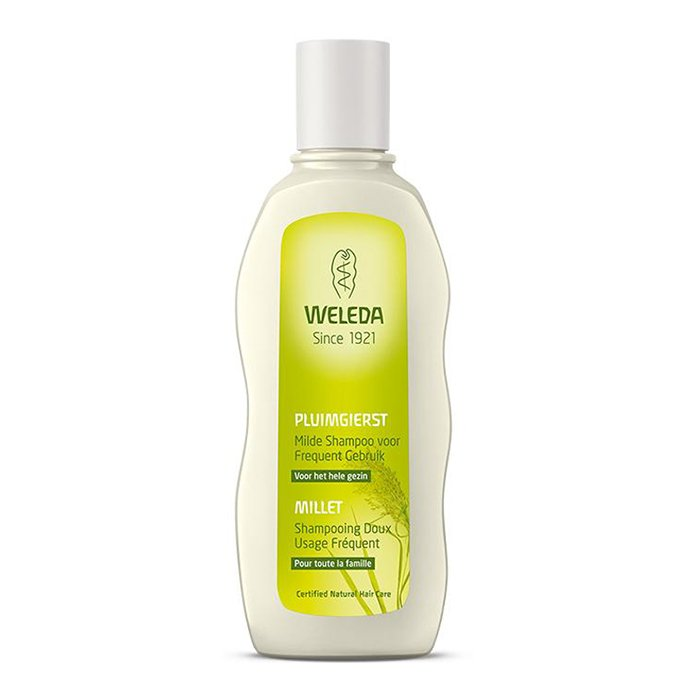 Image of Weleda Pluimgierst Milde Shampoo Voor Frequent Gebruik 190ml