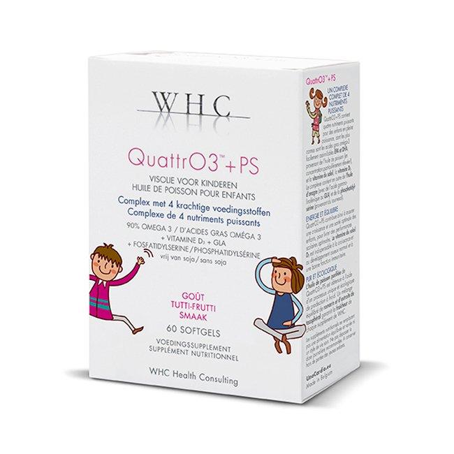 Image of QuattrO3 + PS 60 Softcaps