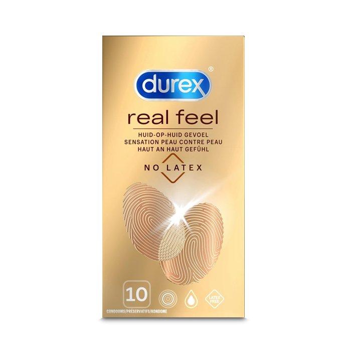 Image of Durex Real Feel Condooms 10 Stuks