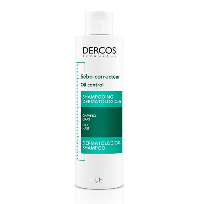 Image of Vichy Dercos Sebumregulerende Shampoo Vet Haar 200ml