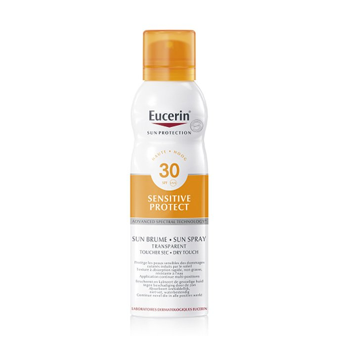Image of Eucerin Zon Sensitive Protect Onzichtbare Mist Dry Touch SPF30 200ml