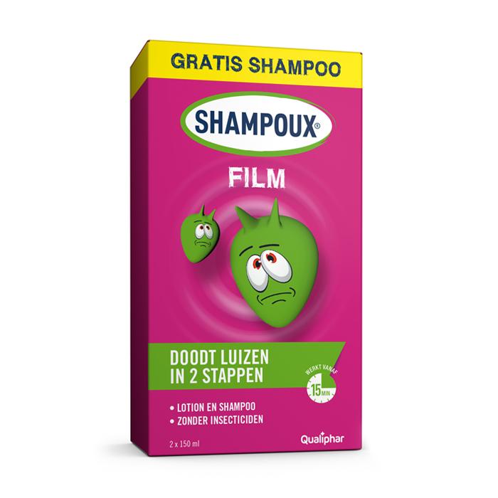 Image of Shampoux Film Promopack Lotion 150ml + GRATIS Shampoo 150ml