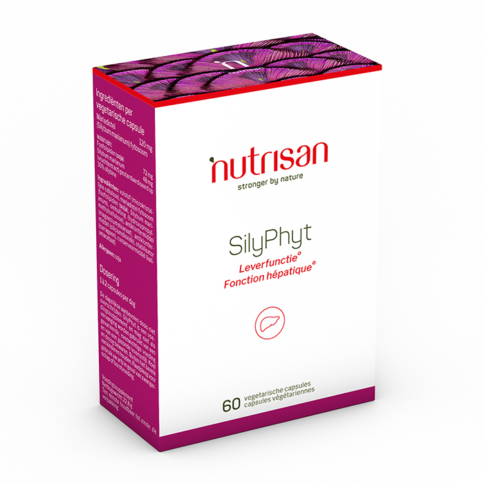 Image of Nutrisan Silyphyt 60 Capsules