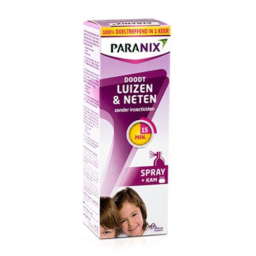 Image of Paranix Behandelingsspray Luizen & Neten 100ml + Kam