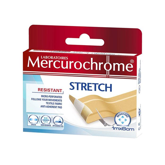 Image of Mercurochrome Stretchpleister Resistant 1mx6cm