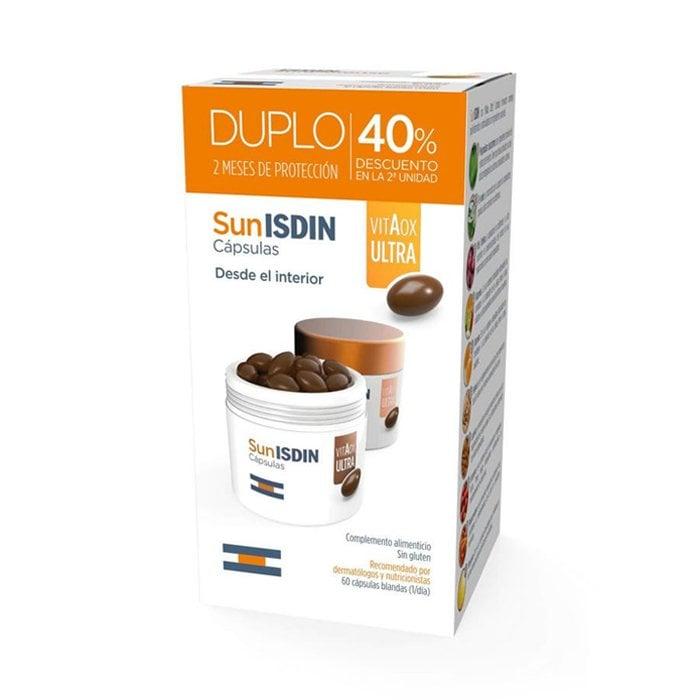 Image of Isdin Sunisdin VitAox Ultra Promo 2x30 Capsules 2de -40%
