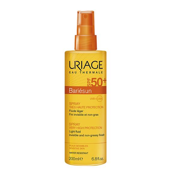 Image of Uriage Bariésun Spray Zeer Hoge Bescherming SPF50+ 200ml