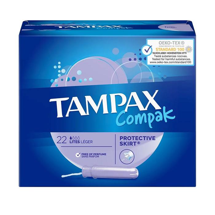 Image of Tampax Compak Lites 22 Stuks