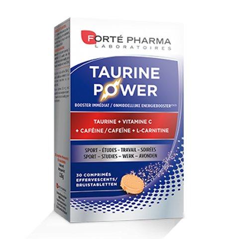 Image of Forté Pharma Taurine Power 30 Bruistabletten
