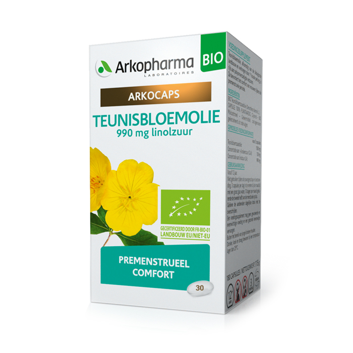Image of Arkocaps Teunisbloemolie Bio 30 Capsules