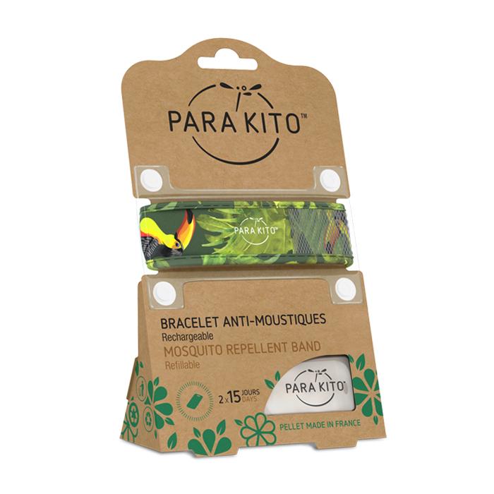 Image of Para'kito Anti-Muggen Armband Tropical + 2 Navullingen