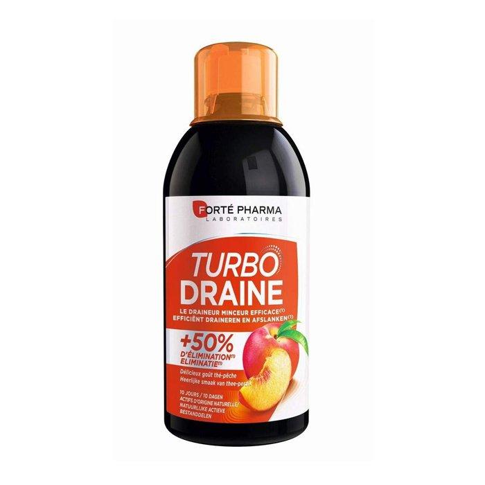 Image of Forté Pharma TurboDraine Groene Thee/ Perzik 500ml