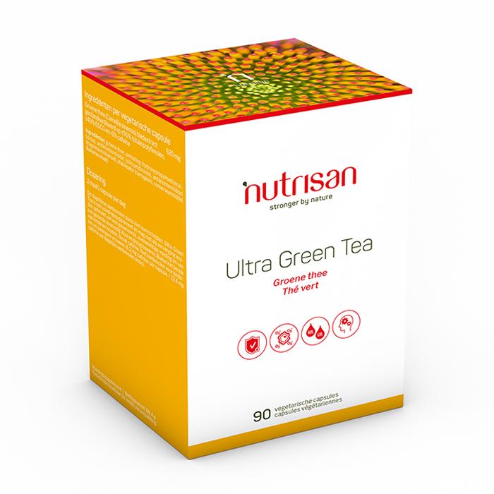 Image of Nutrisan Ultra Green Tea 90 Capsules