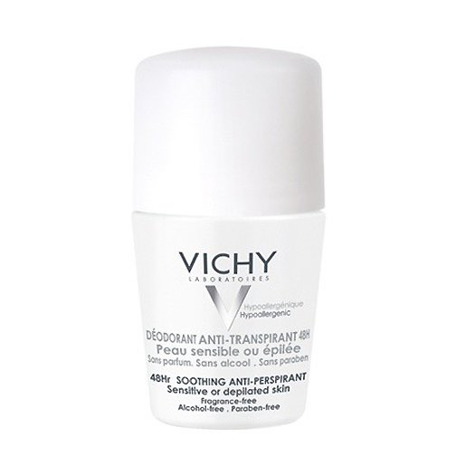 Image of Vichy Deodorant Roller Anti-Transpiratie Gevoelige Huid 48 Uren 50ml