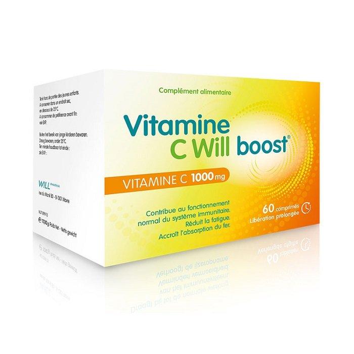 Image of Vitamine C Will Boost 1000mg 60 Tabletten