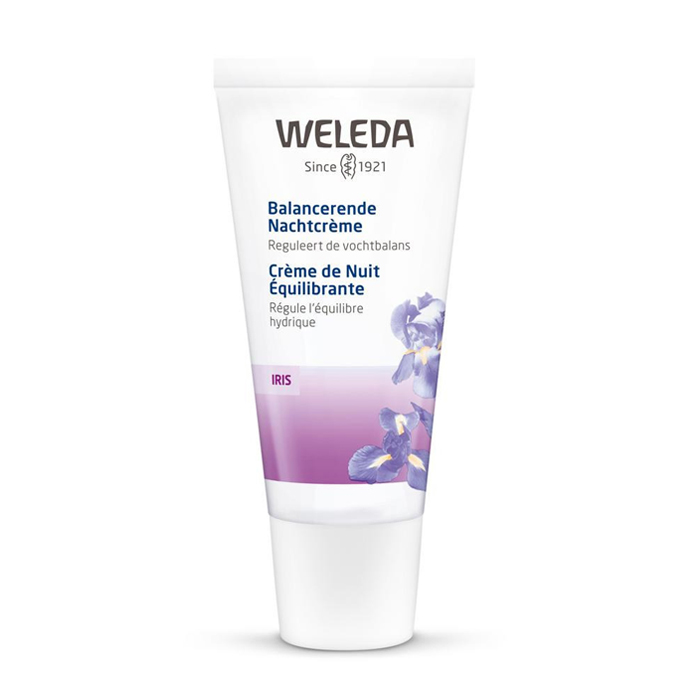 Image of Weleda Iris Balancerende Nachtcrème 30ml