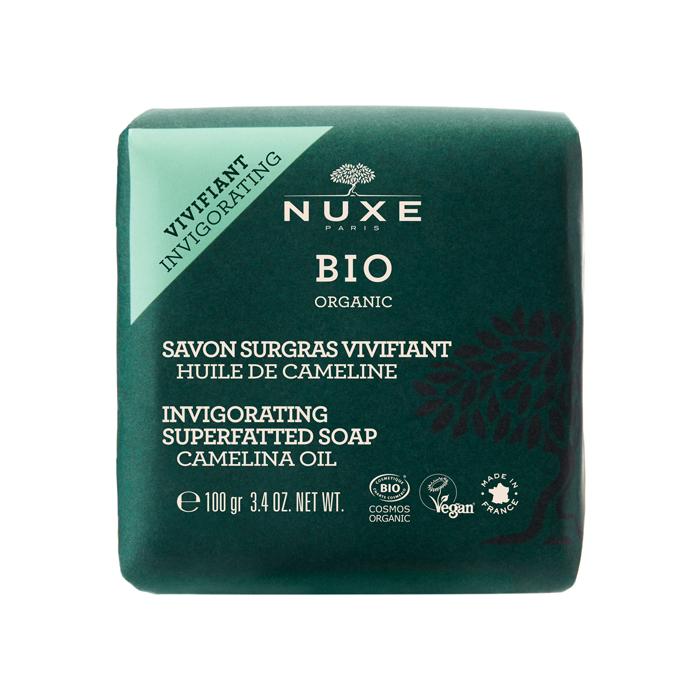 Image of Nuxe Bio Revitaliserende Overvette Zeep Camelinolie 100g