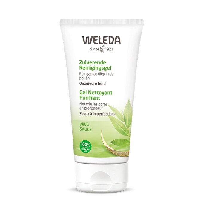 Image of Weleda Zuiverende Reinigingsgel (vegan) 100ml