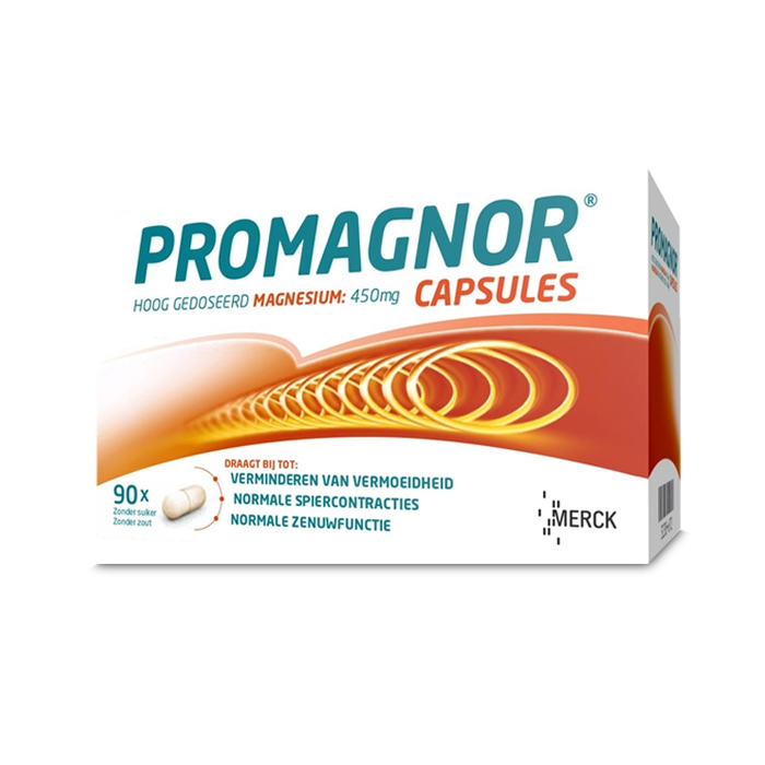 Image of Promagnor 450mg 90 Capsules