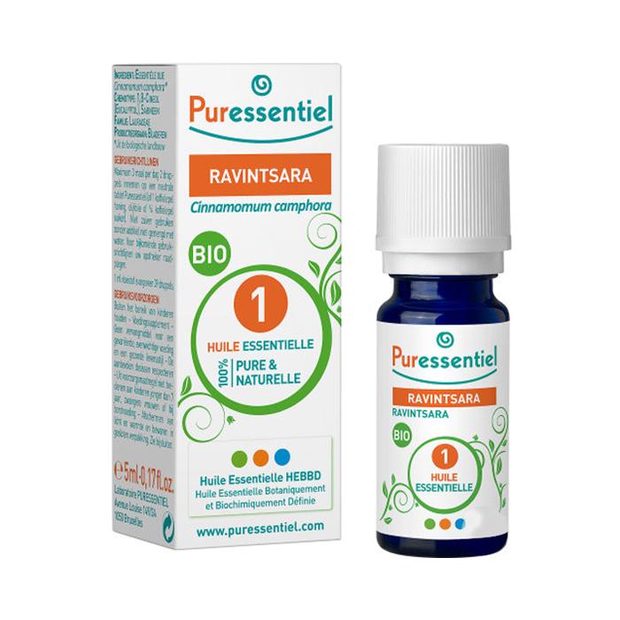 Image of Puressentiel Bio Essentiële Olie Ravintsara 10ml