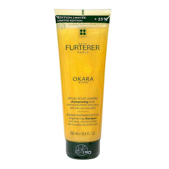 Image of René Furterer Okara Blond Schitterende Shampoo Promo 200ml + 50ml GRATIS