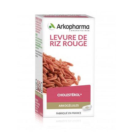 Image of Arkocaps Rode Rijstgist Cholesterol 45 Capsules
