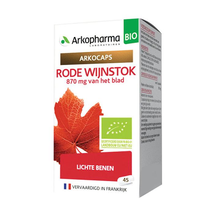 Image of Arkocaps Rode Wijnstok Bio 45 Capsules NF